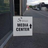 Photo taken at Stade de la Maladiere by Dino G. on 9/12/2013