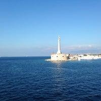 Photo taken at Porto di Messina by Raphael T H. on 7/25/2013