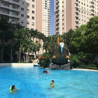 Photo taken at Waterplace Swimming Pool by Heri A. on 7/2/2016