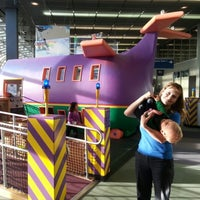 Photo taken at Kids on the Fly, Chicago Children's Museum at O'Hare (ORD) by Andrew K. on 12/22/2012
