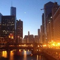 Photo taken at Chicago Riverwalk by Nikola R. on 7/4/2013
