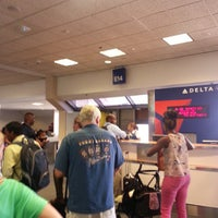 Photo taken at Gate E14 by Todd D. on 8/30/2013