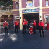 Photo taken at Disneyland Fire Department No. 1 by Adam S. on 3/3/2013