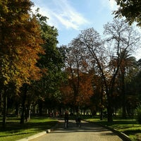 Photo taken at Parque Quinta Normal by Elizabeth H. on 3/31/2013