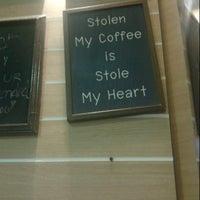 Photo taken at Yoddoi Coffee & Tea by Damon on 12/15/2012