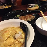 Photo taken at Ajisen Ramen by Cassandra C. on 10/19/2015