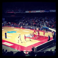 Photo taken at Lotto Arena by Nassia on 1/4/2013