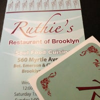Photo taken at Ruthie's Restaurant of Brooklyn by Robert L. on 1/9/2013