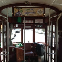Photo taken at St. Charles Avenue Streetcar by Dede P. on 3/18/2013