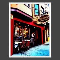 Photo taken at Cafe Reverie by Rosemarie M. on 10/1/2012
