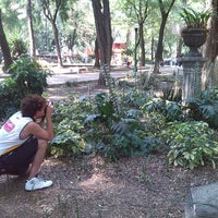 Photo taken at Parque España by Danto S. on 4/12/2014