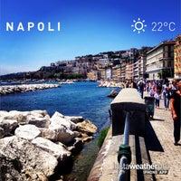 Photo taken at Molo di Sopraflutto Sannazzaro (Molo Luise) | Porto di Napoli by Giovanni M. on 6/2/2014