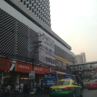 Photo taken at Indra Square by Kritsana P. on 2/15/2013