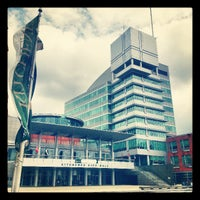 Photo taken at Kitchener City Hall by Chris M. on 4/30/2013