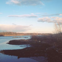 Photo taken at Pelham Bridge by Latina V. on 4/2/2013