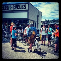 Photo taken at Recycled Cycles by Michael S. on 6/1/2013