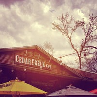 Photo taken at Cedar Creek Café, Bar & Grill by Melissa H. on 2/24/2013