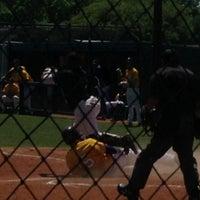 Photo taken at Richardson High School Baseball Field by Kirsten O. on 4/20/2013
