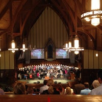 Photo taken at First Baptist Church Decatur by Jackie S. on 3/30/2014