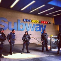 Photo taken at MTA Subway - 42nd St/Times Square/Port Authority Bus Terminal (A/C/E/N/Q/R/S/1/2/3/7) by Adrian M. on 4/18/2013