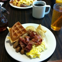 Photo taken at Golden Griddle by Dani F. on 2/17/2013