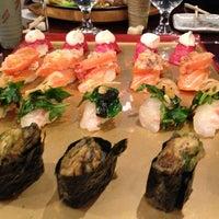 Photo taken at Sushi of Gari by Charles B. on 1/20/2013