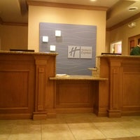 Photo taken at Holiday Inn Express & Suites Chesterfield - Selfridge Area by Marseda M. on 5/11/2014
