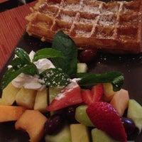 Photo taken at Belga Cafe by Virginialicous on 4/14/2013