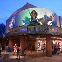 Photo taken at Voyage of The Little Mermaid by JR R. on 7/25/2013