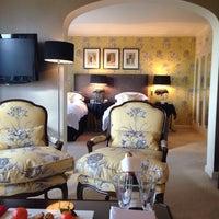 Photo taken at Chewton Glen Hotel & Spa by Kate H. on 1/28/2014