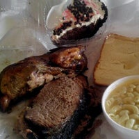 Photo taken at Lockhart Smokehouse by Lisa S. on 12/15/2012