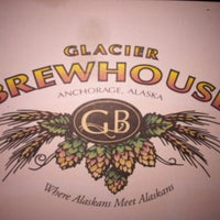 Photo taken at Glacier BrewHouse by Kyra C. on 7/21/2013