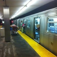 Photo taken at MTA Subway - Middle Village/Metropolitan Ave (M) by Claude N. on 11/9/2012