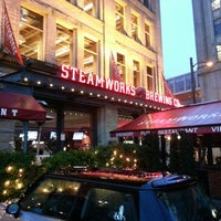Photo taken at Steamworks Brewing Company by Cheri G. on 3/2/2013