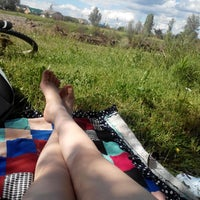 Photo taken at річка Бистриця by Natalia H. on 5/29/2014