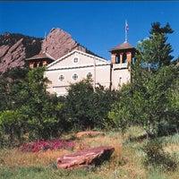 Photo taken at Colorado Chautauqua National Historic Landmark by Colorado Chautauqua National Historic Landmark on 4/21/2014