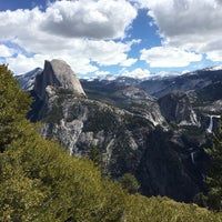 Photo taken at Glacier Point by Justin S. on 5/1/2016