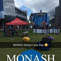 Photo taken at Monash Caulfield Common Lawn by Chi Y. on 10/19/2016