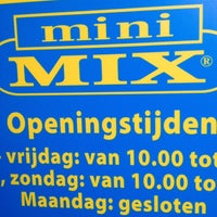 Photo taken at Mini-Mix Amsterdam by Veronika M. on 1/11/2014
