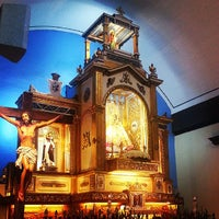 Photo taken at Minor Basilica of Our Lady of the Most Holy Rosary of Manaoag by Marley R. on 7/20/2013