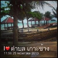 Photo taken at Kai Bae Hut Resort by Tewun P. on 5/25/2013