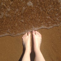 Photo taken at Παραλία Ραφήνας by Natalija A. on 5/16/2014