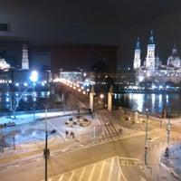 Photo taken at Hotel Ibis Zaragoza Centro by Daniel P. on 2/14/2014