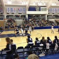 Photo taken at McDonough Gymnasium, Georgetown University by Sean L. on 12/29/2012