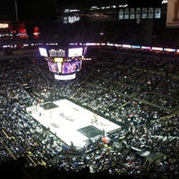 Photo taken at AT&T Center by Gabby T. on 1/27/2013
