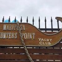 Photo taken at Mariposa Hunters Point Yacht Club by Ryan B. on 9/21/2014