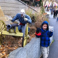 Photo taken at Canobie Yankee Cannon Ball by Jeffrey S. on 10/28/2012