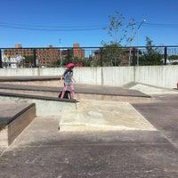 Photo taken at Far Rockaway Skatepark by Tracy L. on 9/25/2016