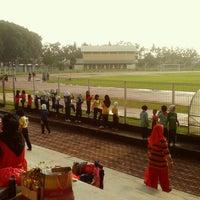 Photo taken at Stadium Sultan Ibrahim, Muar by Ixxatuls on 8/4/2014