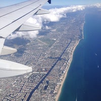 Photo taken at Fort Lauderdale-Hollywood International Airport (FLL) by Adrianna on 10/15/2013